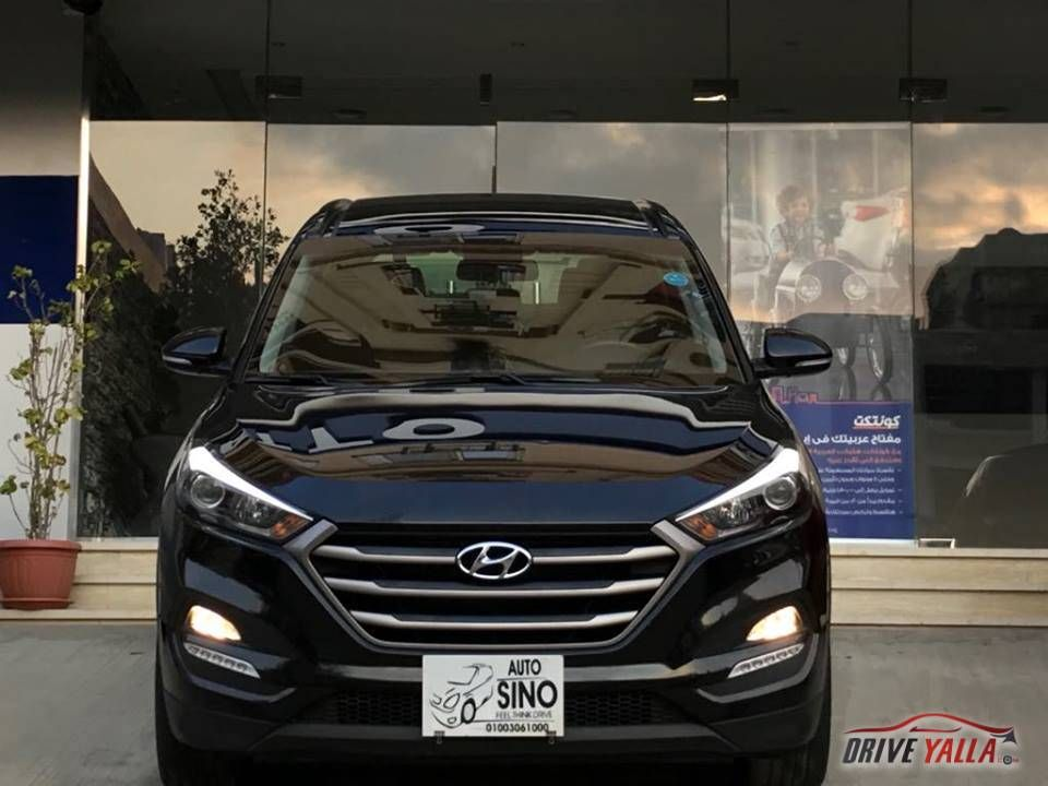 Auto Sino هيونداى توسان Plus موديل 2017 عداد 116000 ا درايف يلا Car Suv Vehicles