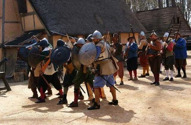 Jamestown Settlement, Williamsburg, Virginia