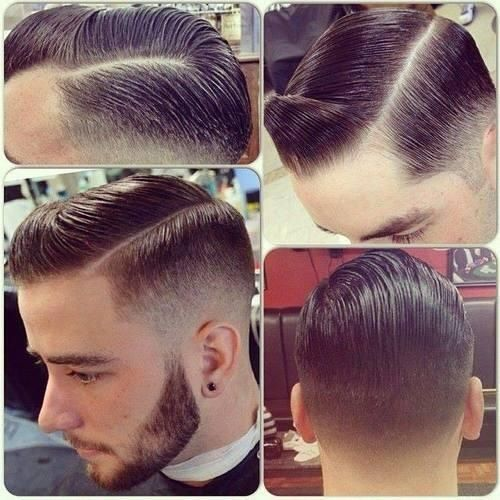 Taper Fade Haircut For Men