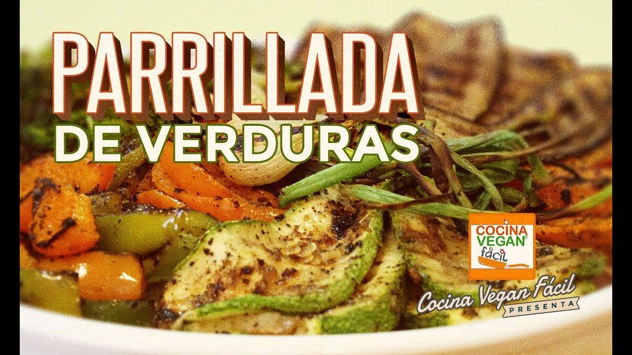 Parrillada de verduras  Cocina Vegan Fcil  Recetas