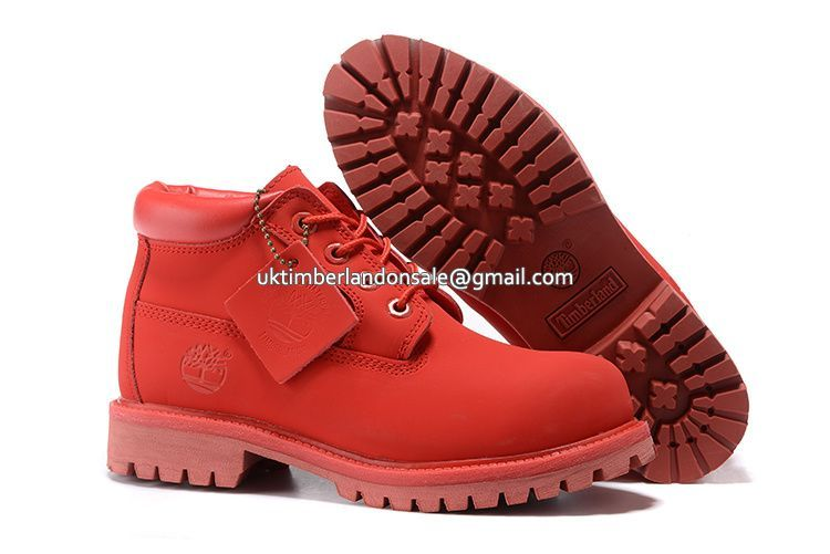 UK Timberland Women Red Nellie Chukka Double Waterproof Boots £ 69.59