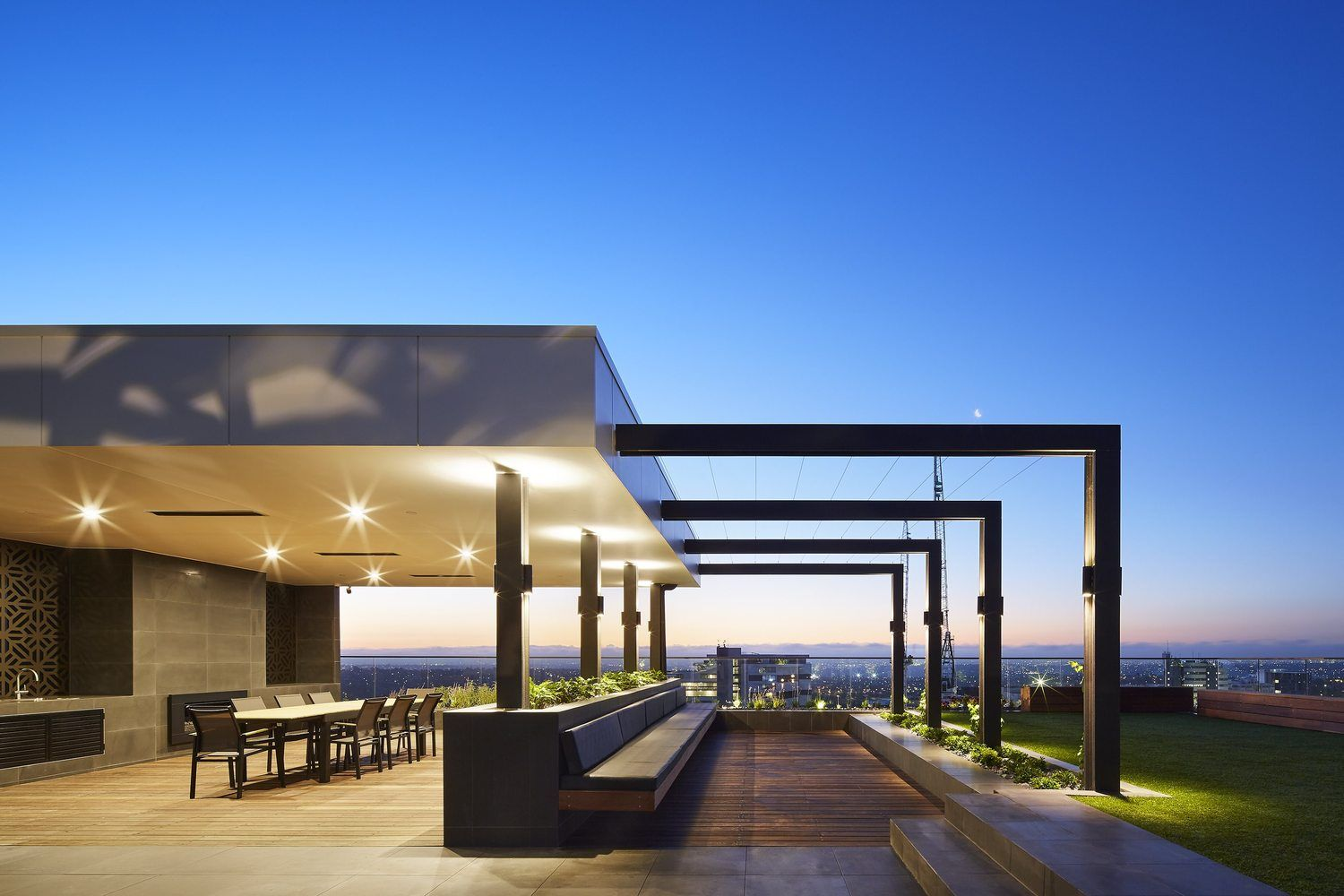 Gallery Of Magnolia Building Cht Architects 3 Roof Architecture Modern Roofing Building