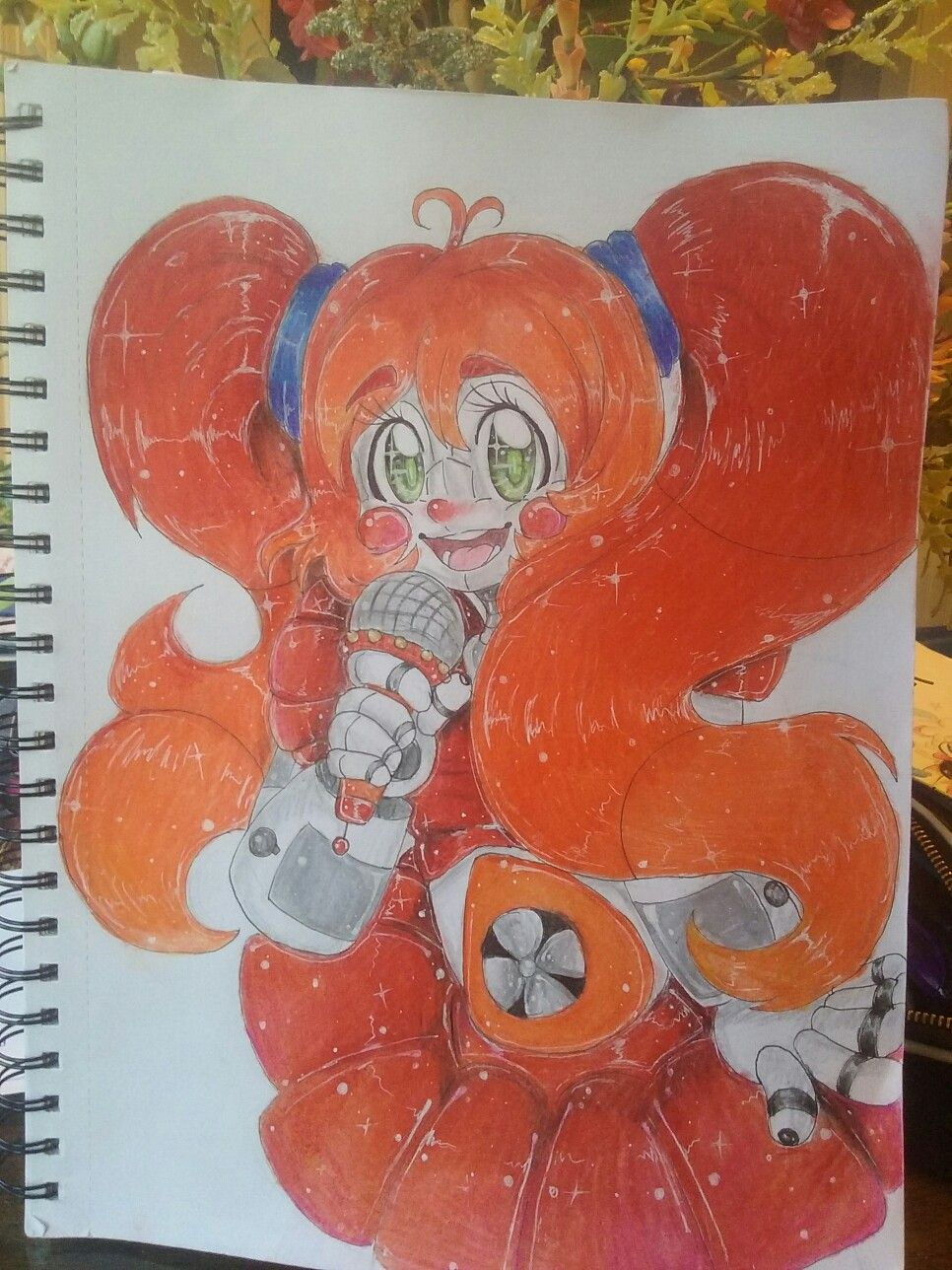 WIP)My drawing of Circus Baby from Fnaf Sister Location