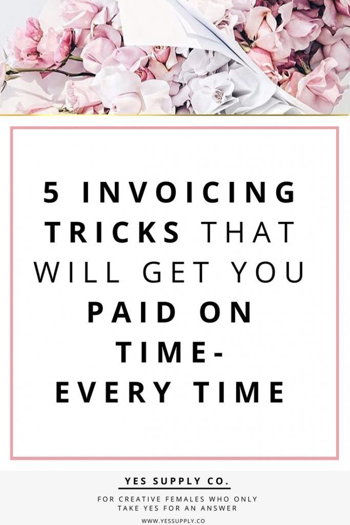 5 Invoicing Tricks that Will Get You Paid On Time- Every Time | Yes Supply