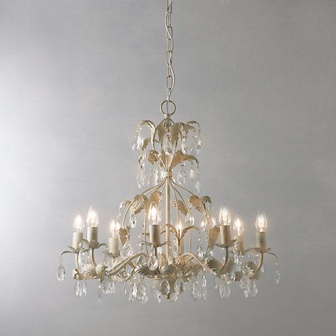 Annabella chandelier 8 arm john lewis chandeliers and lights buy john lewis annabella chandelier 8 arm online at johnlewis aloadofball Image collections