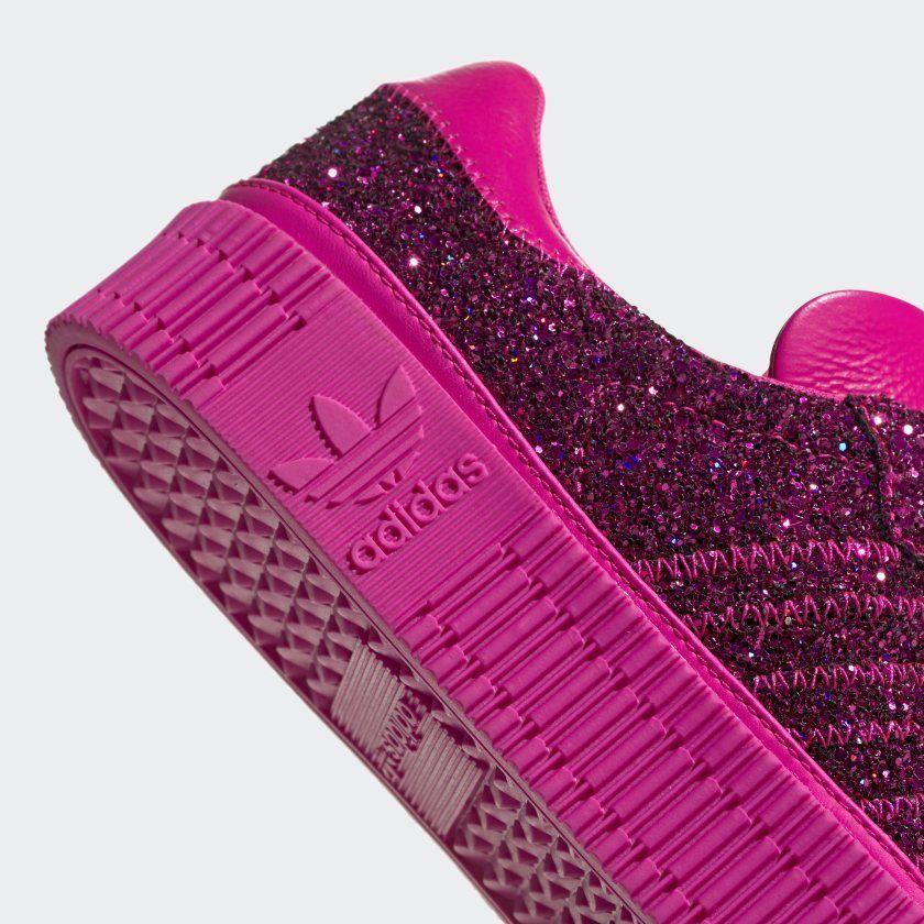 adidas Originals Sambarose Shoes Pink Glitter | Shoes