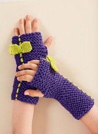 Mag. 180 - # 31 Fingerless gloves