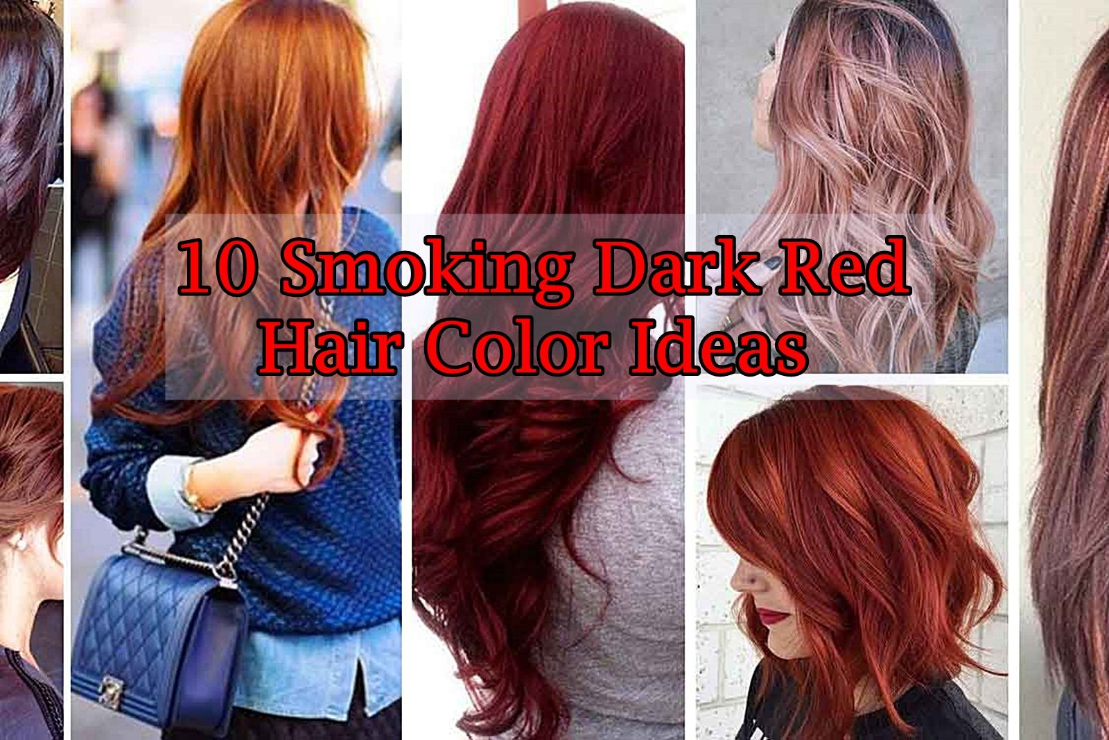 smoking dark red hair color ideas hair styles and hair