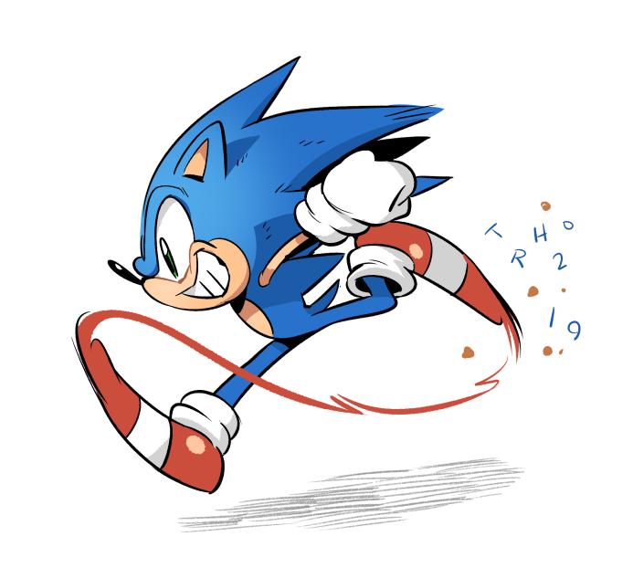 A Leek Of Their Own On Twitter Sonic Running Artwork Sonic Art