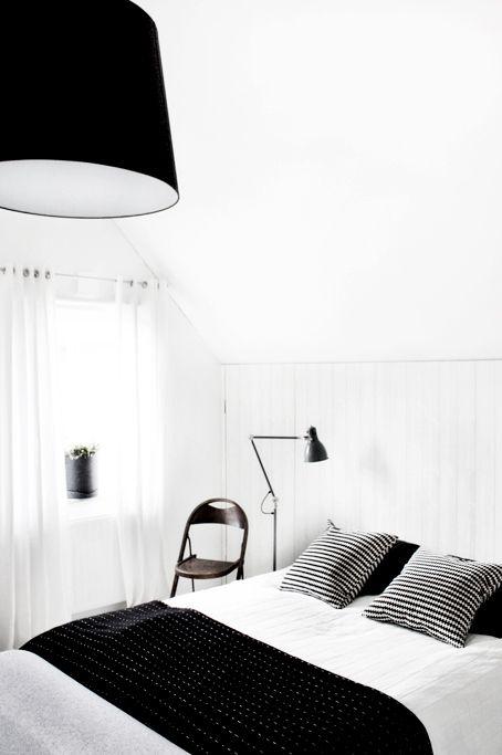 Noir Et Blanc 15 Idees Deco Pour Un Look Scandinave Tres Chic