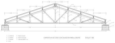 Capriate in acciaio dwg tesouras de madeira em 2019 artist for Capriate in ferro