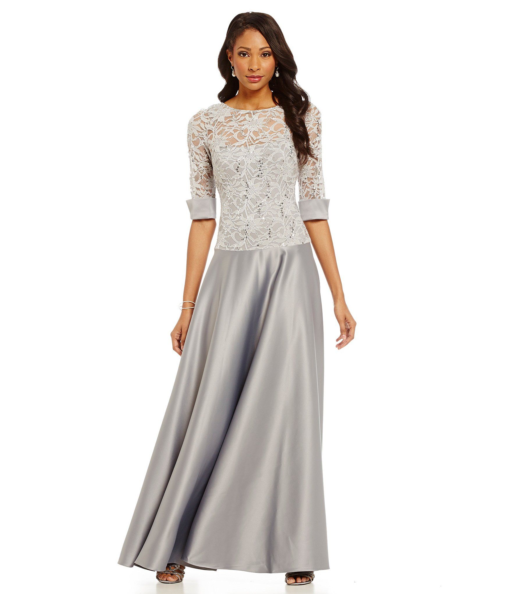 Shop For Js Collections Lace Gown At Dillards Visit Dillards