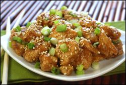 Hungry Girl Sweet n Sticky Sesame Chicken