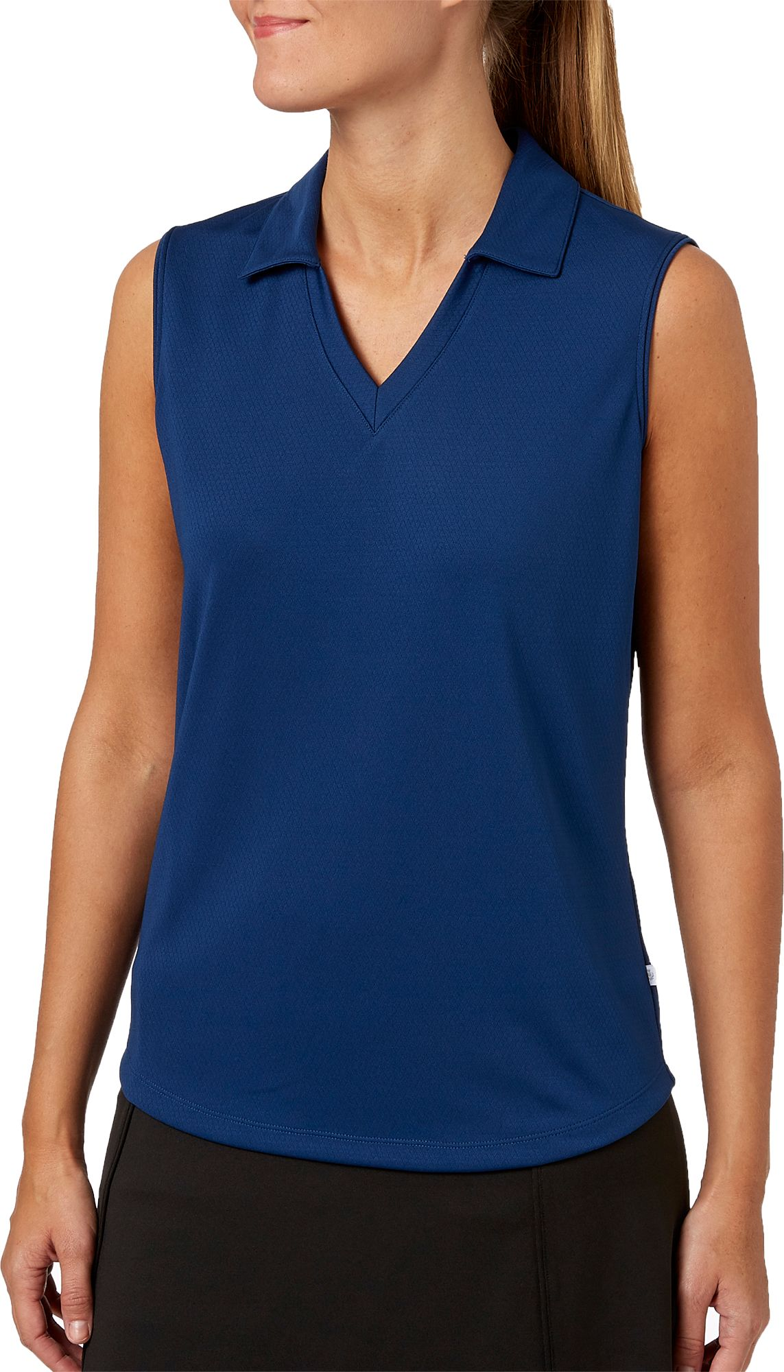 c170e2e6658 Lady Hagen Women s Essentials Sleeveless Golf Polo – Plus Size ...