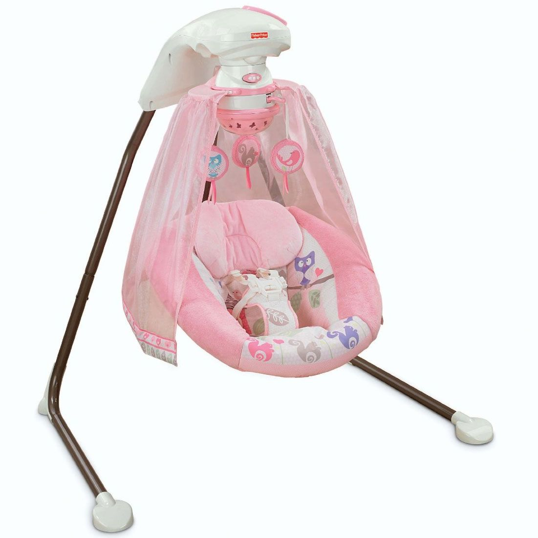 0821af3ec Fisher-Price Tree Party Cradle  n Swing