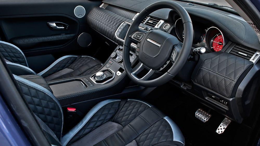custom kahn evoque range rover evoque range rover evoque, range  range rover evoque white modified interior #1