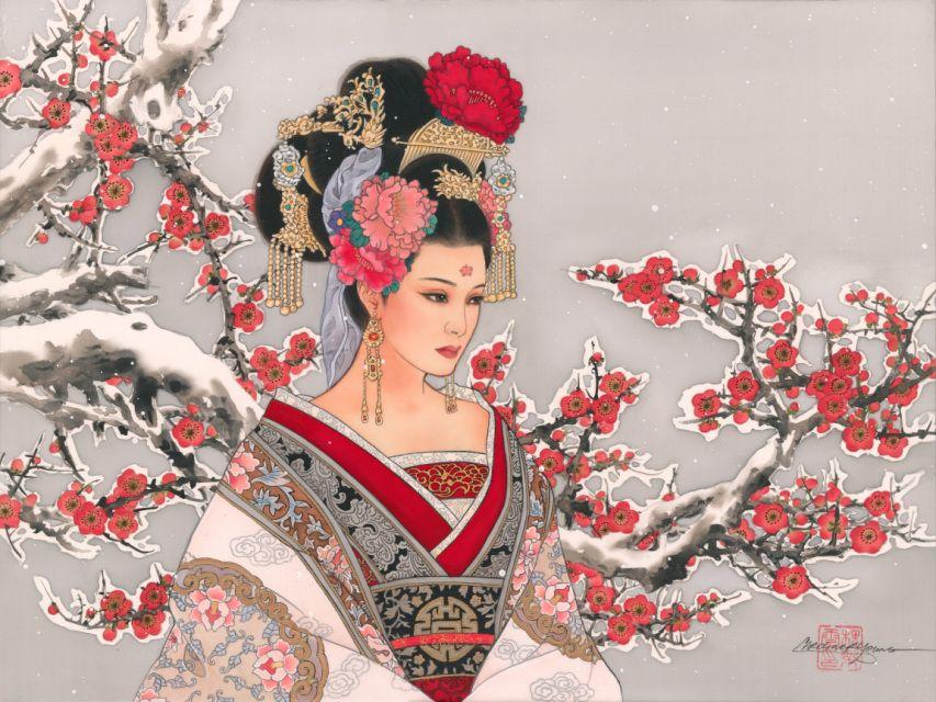 Японские картинки русских
