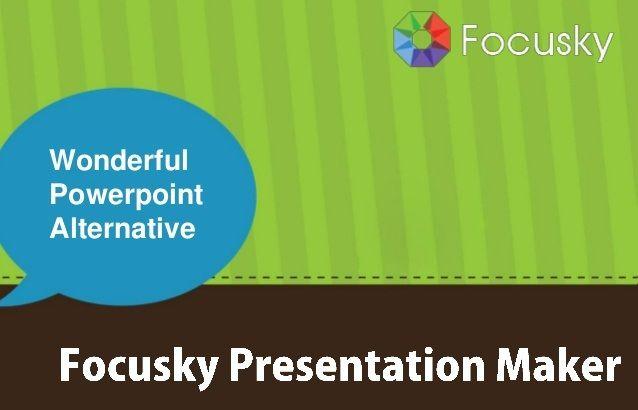 برنامج Focusky لإنشاء عروض تقديمية مذهلة تعليم جديد Presentation Maker Presentation Powerpoint