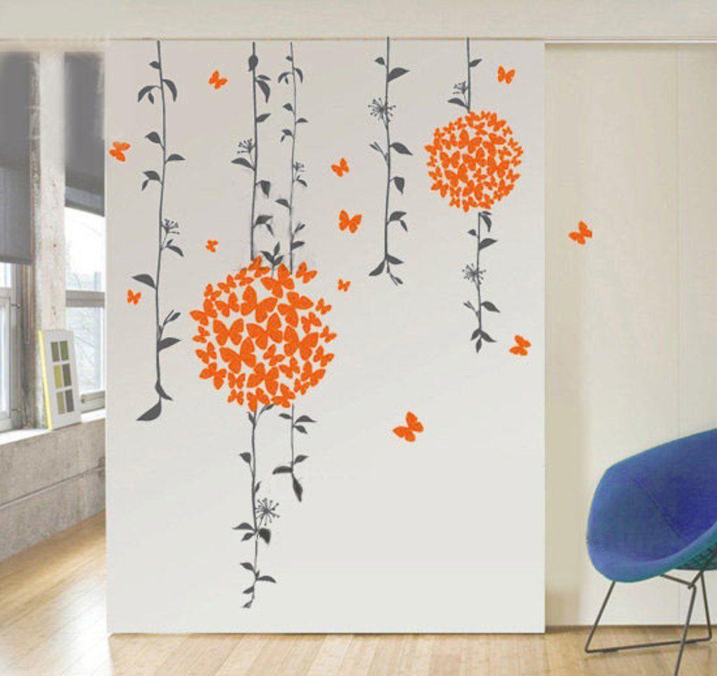 Wandmalerei im zimmer decals design ubutterfliesu wall sticker  wall stickers  pinterest