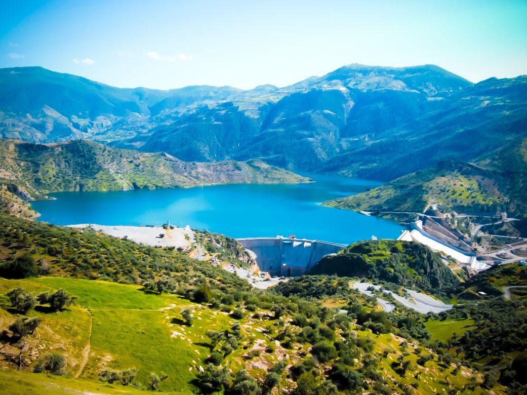 Tichy Haf Dam Bejaia Dam Natural Landmarks Landmarks
