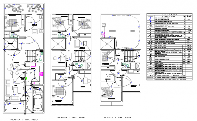 electrical house plan layout file, legend specification detail, stair  detail, furniture detail in