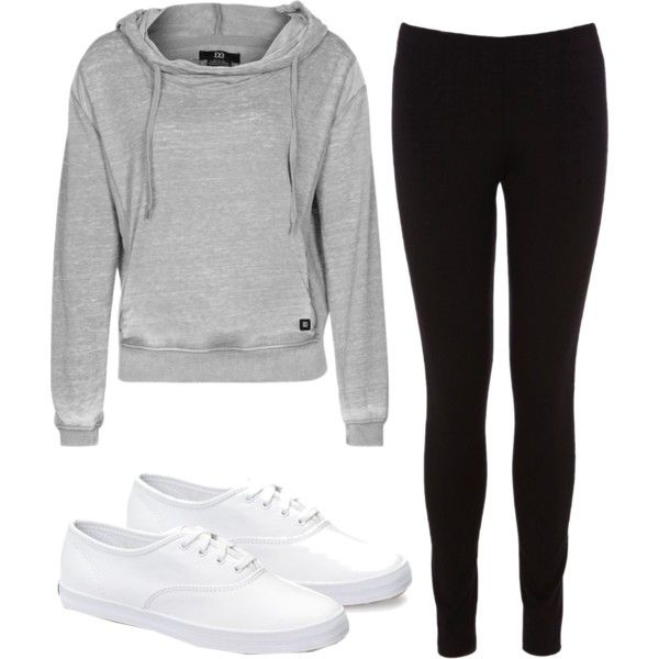 Lazy Day Outfit | College | Pinterest | Lazy, Polyvore and ...