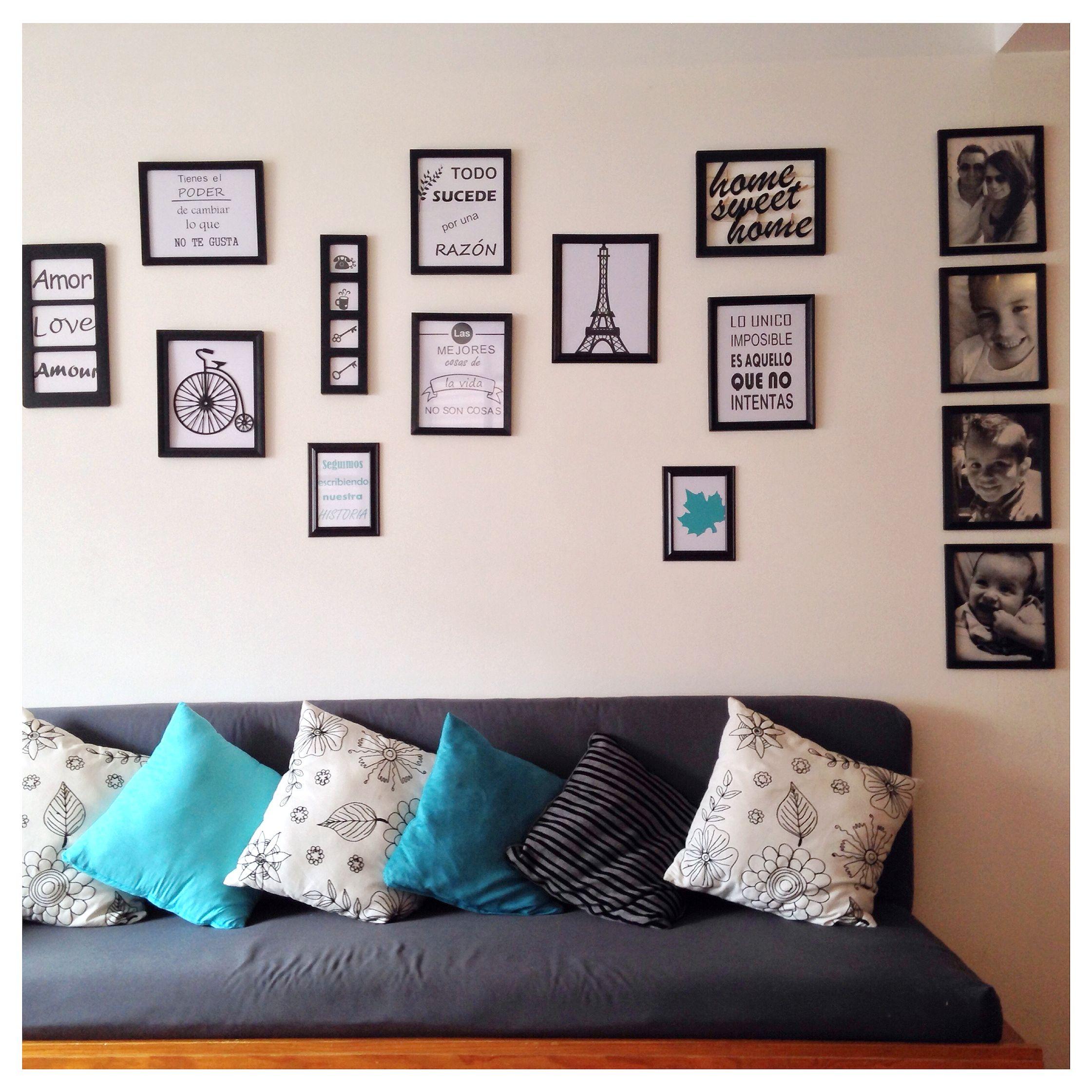 Cuadros/ decoración/ pared con cuadros/ decoración nordica/ frases ...