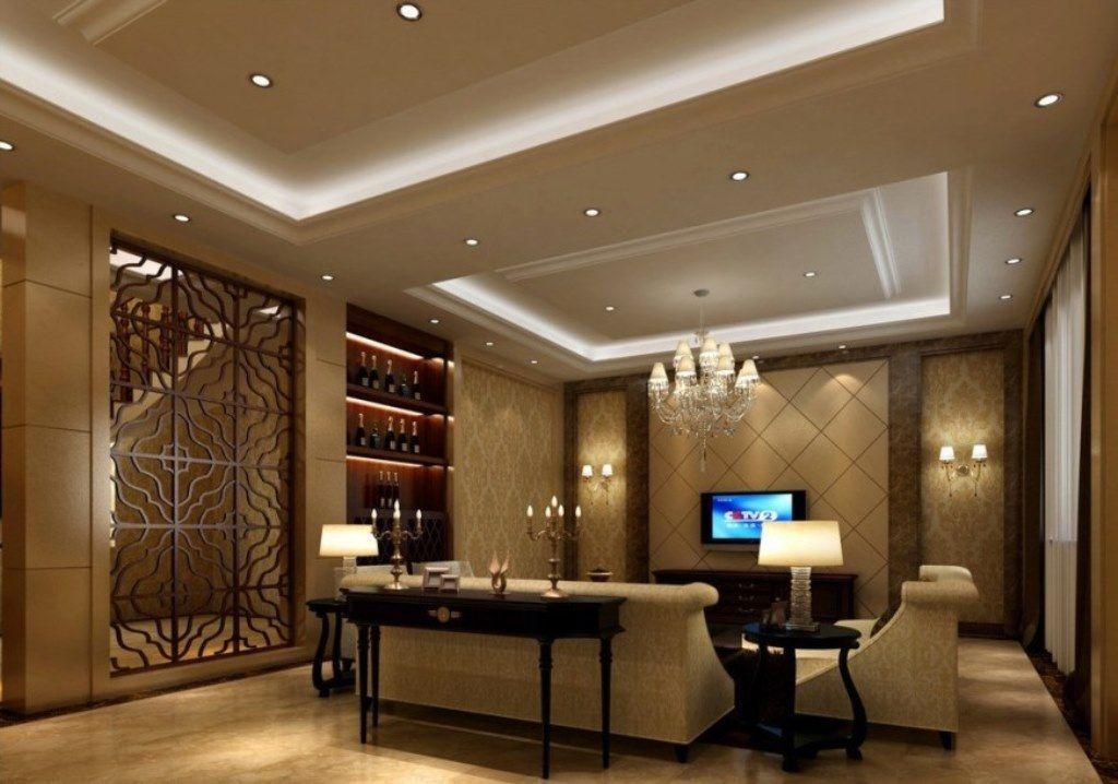 Lovely Ceiling Design for Hall
