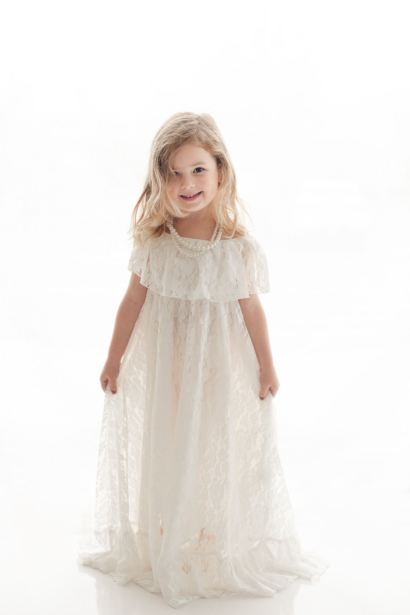 f7a9a7ab5 Bohemian off shoulder lace dress for a vintage inspired photography session.