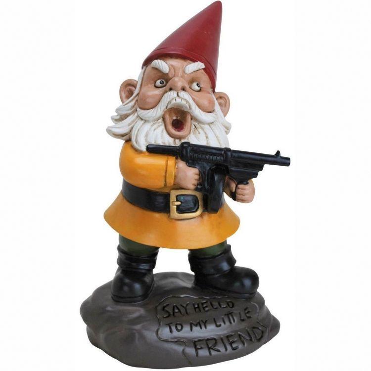 Vihainen Puutarhatonttu Gnomes
