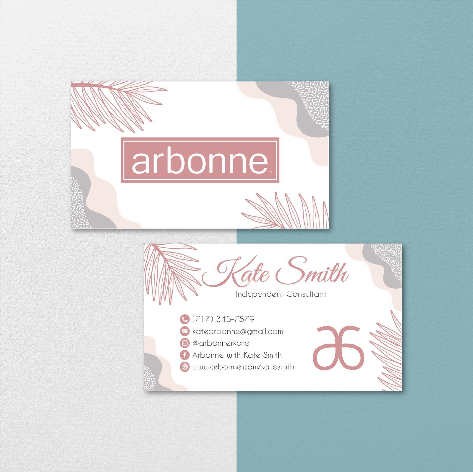 Vintage Personalized Arbonne Business Card Arbonne Business Cards Ab131 Business Cards Arbonne Business Cards Arbonne Business Cards