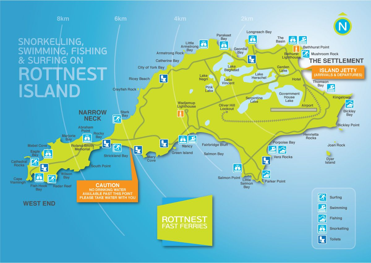 Rottnest Ferry Packages and Timetables Rottnest Fast Ferries