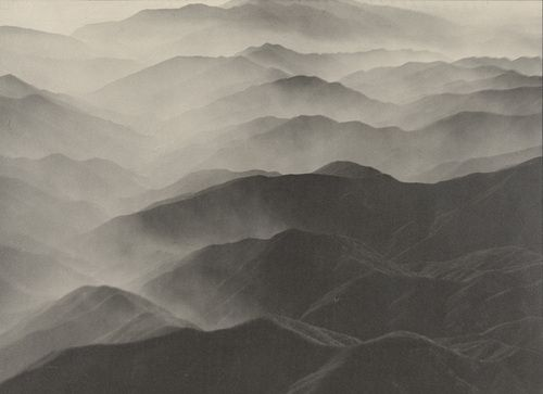 Margaret Bourke-White. Sierra Madre Mountains, California 1935