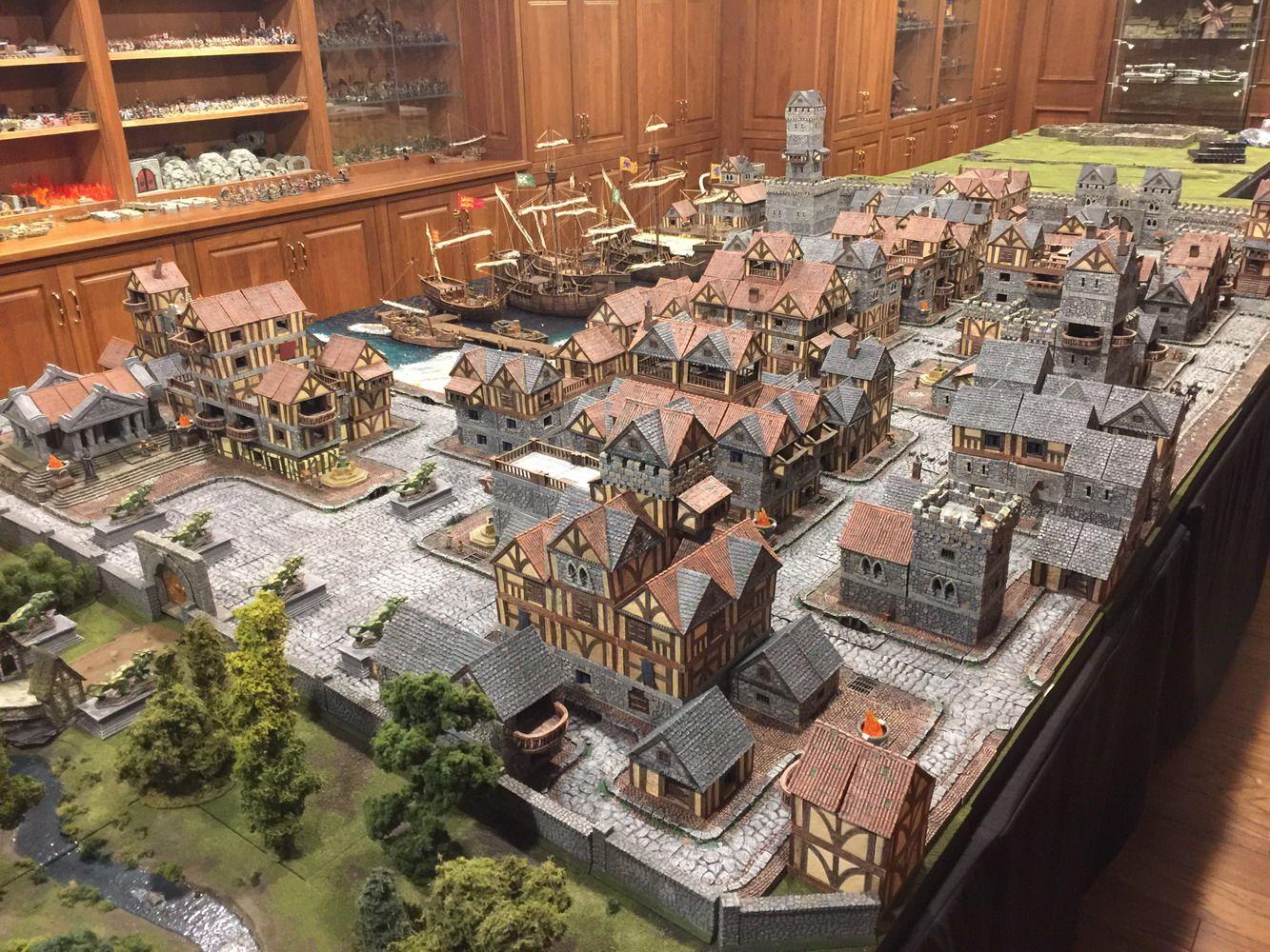 Sorn City Builder System 2016 Dwarven Forge Epic