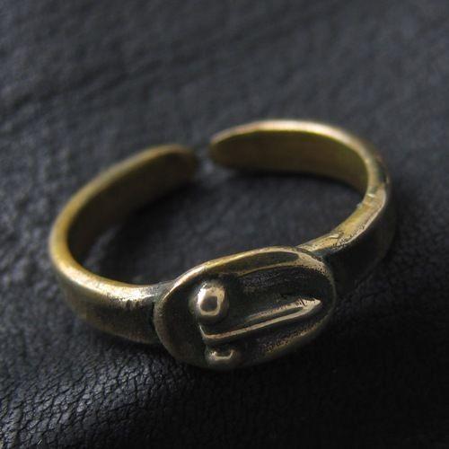 Bronze phallic ring from Ancient Rome Reenactment Phallic Symbol