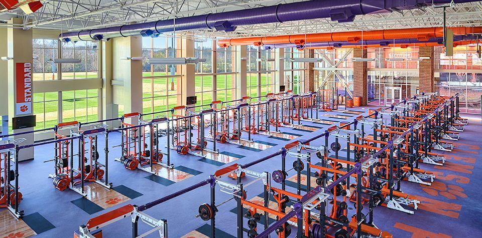 Clemson University Allen N Reeves Football Operations Complex