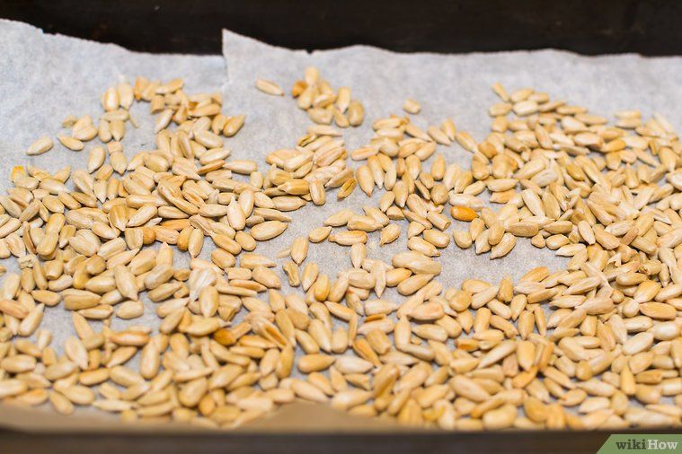 how to roast sunflower seeds from the garden