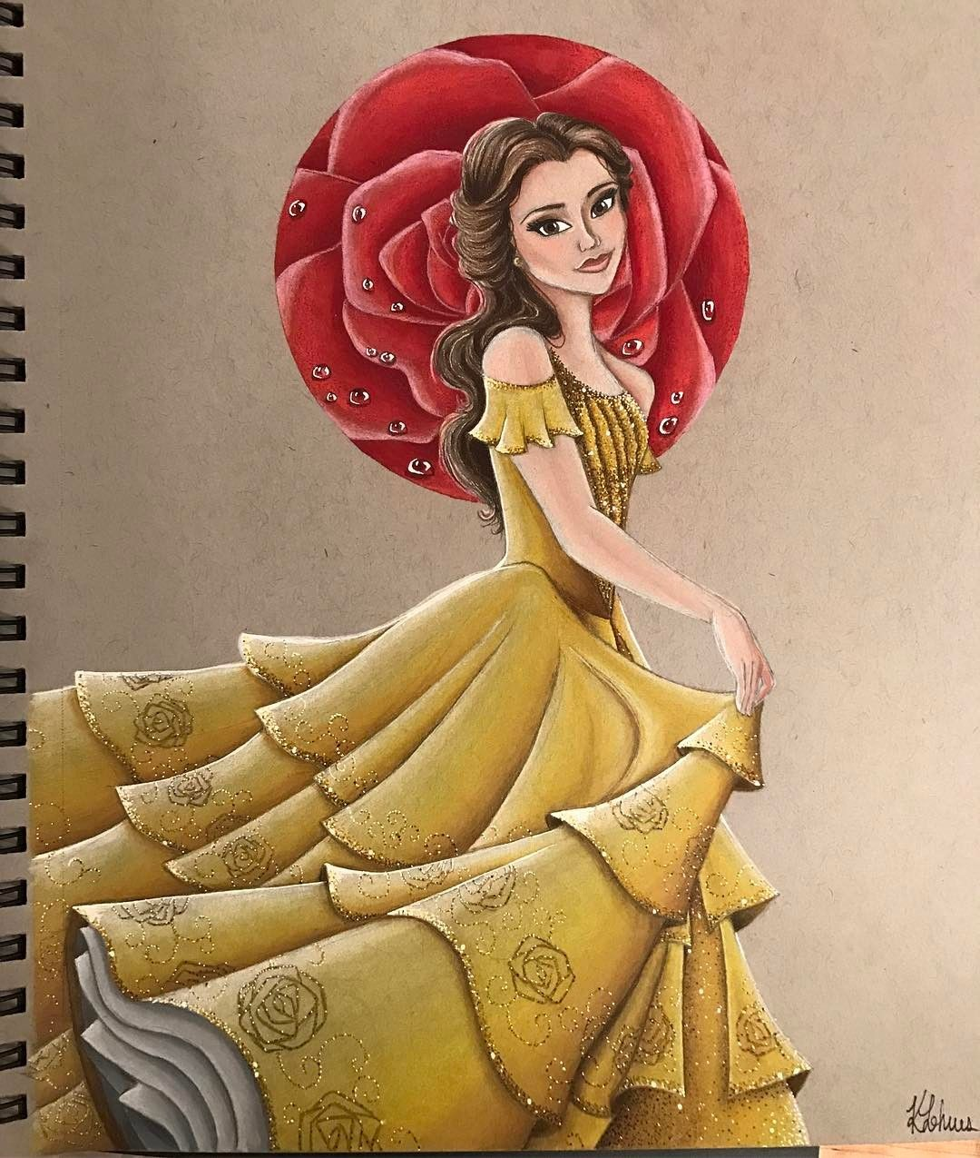 In honor of the new beautyandthebeast movie coming out