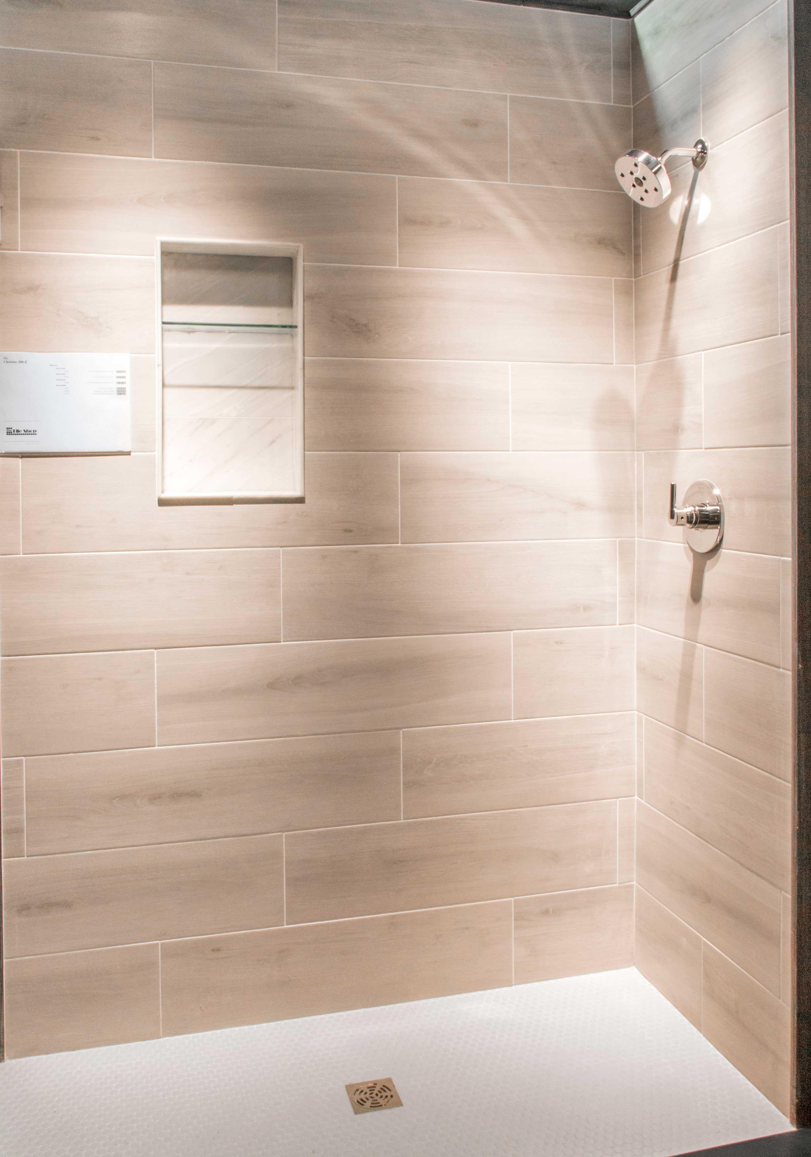 Bathroom Shower Wall Tile Bosco Cenere Faux Wood Wall And Floor Tile Bathroom Wall Panels Shower Wall Tile Bathroom Shower Walls