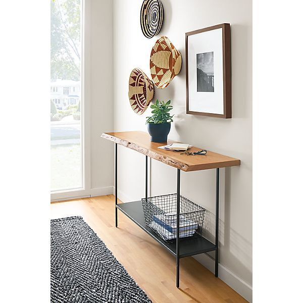 Chilton Console Table in Cherry Modern Entryway Furniture Room