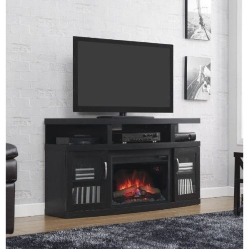 Classic Flame Cantilever Electric Fireplace Media Center Embossing