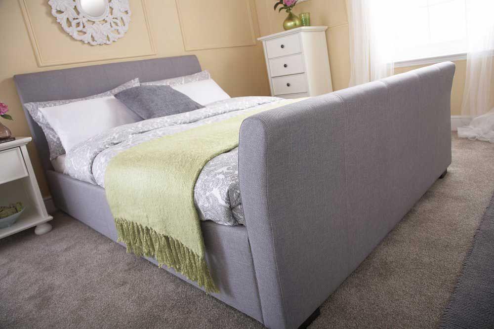 Elegant Double Ottoman Beds