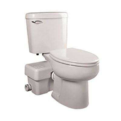 Liberty Pumps Ascentii Esw Ascent Ii Macerating Toilet System Elongated Small Basement Bathroom Small Basements Basement Bathroom