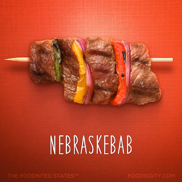 all 50 states reimagined as food puns mental floss