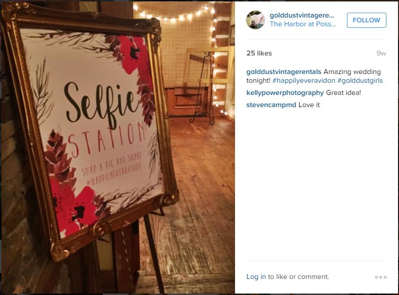 Selfie Station 18th birthday, Greatful, Selfie
