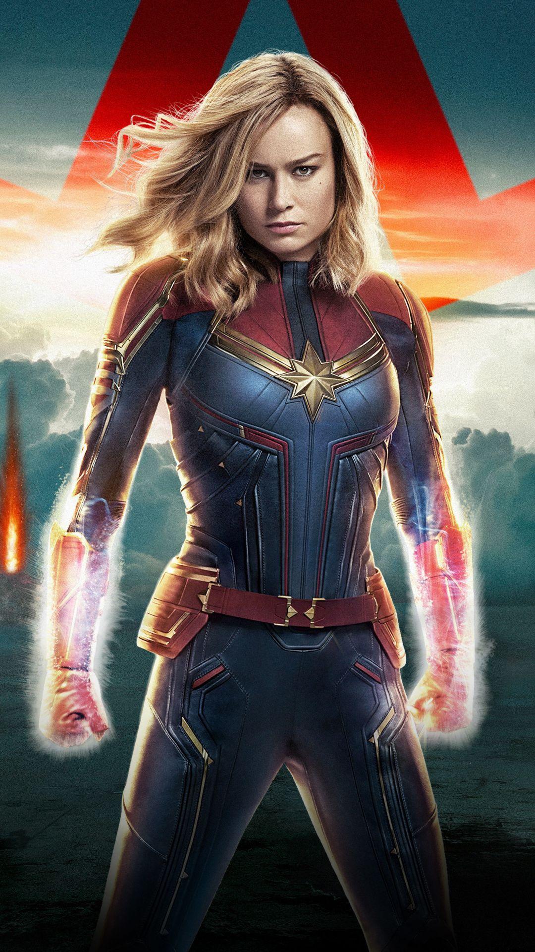 Captain Marvel, 2019, movie, confident Wallpaper | Captain ...