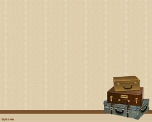 Old suitcases powerpoint template is an old fashion template for old suitcases powerpoint template is an old fashion template for powerpoint with suitcase image on a brown background ready for your suitcase or tr toneelgroepblik Image collections