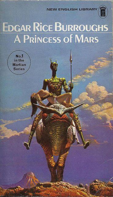 Edgar Rice Burroughs - A Princess of Mars | Classic sci fi books, Science  fiction art, Sci fi books