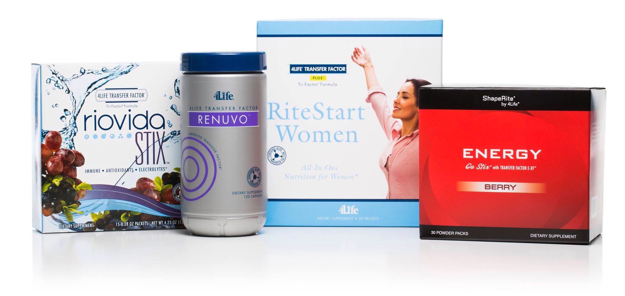 4life Riovida Stix Tf Renuvo Ritestart Women Energy Transfer Factor Advance Trifactor Tri Formula Healthy Life