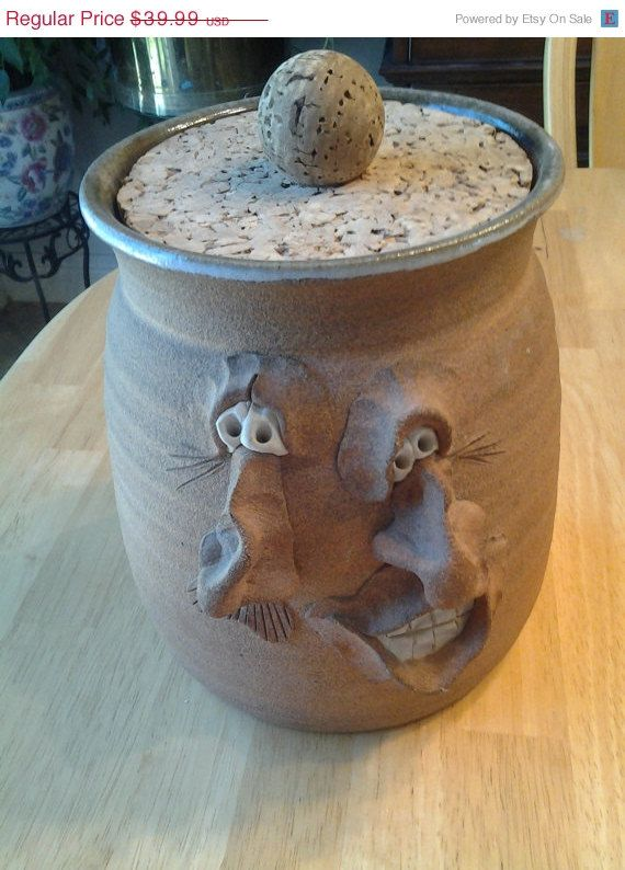New Pottery Jar with Lid